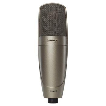 SHURE KSM42/SG Large Dual-Diaphragm, Side-Address Condenser Vocal Microphone. EMI Audio