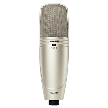 SHURE KSM44A/SL Multi-Pattern, Large Diagphragm, Side-Address Condenser Studio Microphone. EMI Audio