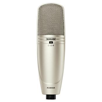 SHURE KSM44A/SL Multi-Pattern, Large Diagphragm, Side-Address Condenser Studio Microphone. EMI Audio