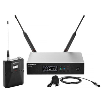 SHURE QLXD14/85-H50 WL185 Lavalier Microphone System EMI Audio