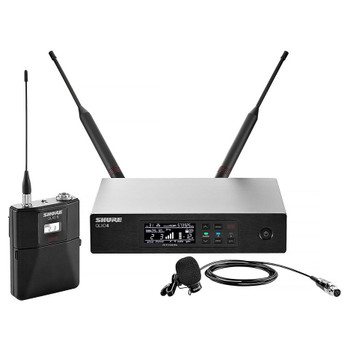 SHURE QLXD14/84-X52 WL184 Lavalier Microphone System. Frequency Band Version: X52 EMI Audio