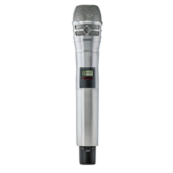 SHURE-AD2/K8N-AD-HH-Axient-Handheld-Wireless-Mic-Transmitter-nickel-finish. EMI Audio