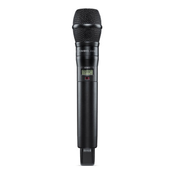 SHURE-ADX2FD/K9HSB-ADX-FD-HH-axient-hand-held-transmitter-with-2-discrete-RF-carriers. EMI Audio