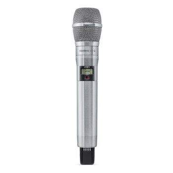 SHURE-ADX2FD/K9HSN-ADX-FD-HH-axient-nickle-finish-hand-held-transmitter-with-2-discrete-RF-carriers. EMI Audio