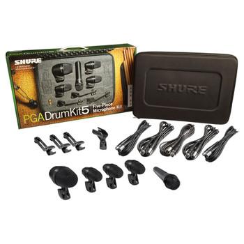 SHURE PGADRUMKIT5 5-piece drum mic kit. EMI Audio