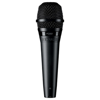 SHURE PGA57-LC Cardioid dynamic instrument microphone - less cable. EMI Audio