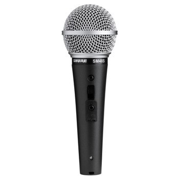 SHURE SM48S-LC Cardioid Dynamic, On-Off Switch. EMI Audio