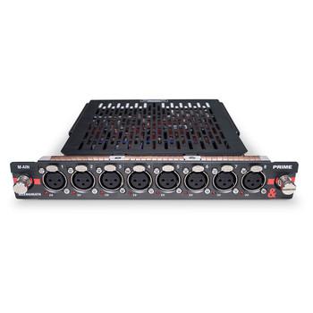 DX32 PRIME Mic/line input module - 8 XLR Inputs, 32bit converters