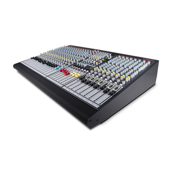 ALLEN & HEATH GL2400-32 32 mic/line + 2 stereo mixer angled view