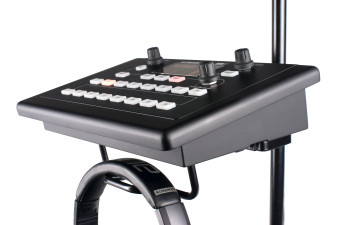 ALLEN & HEATH ME-1 Personal Monitor Mixer, 42 channel, 16 scene recall memories on a stand