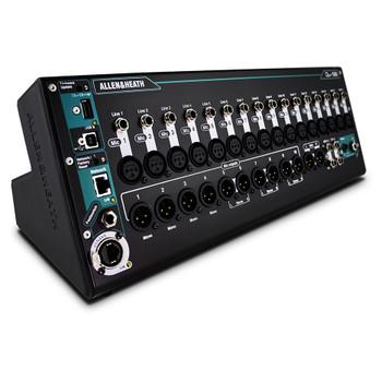 ALLEN & HEATH QU-SB 32 channel rack mount digital mixer front view