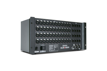 ALLEN & HEATH GX4816 48 x 16 audio expander angled view