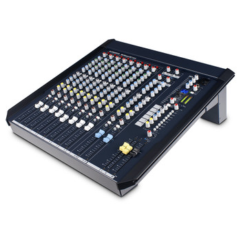 ALLEN & HEATH WZ4 12:2 8 Mic Line + 2 stereo rack mount mixer angled view