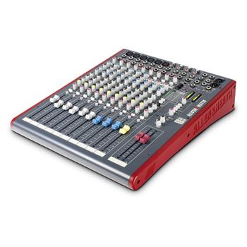 ALLEN & HEATH ZED12FX 6 Mic Line mixer angled view