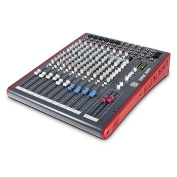 ALLEN & HEATH ZED14 6 Mono Mic/Line mixer angled view