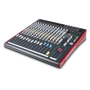 ALLEN & HEATH ZED16FX 10 Mono Mic/Line mixer angled view