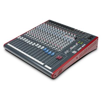 ALLEN & HEATH ZED18 10 Mono Mic/Line mixer angled view