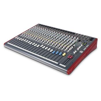 ALLEN & HEATH ZED22FX 16 mic mixer angled view