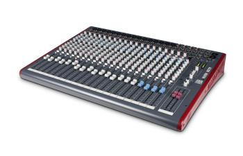 ALLEN & HEATH ZED24 16 mic/line mixer angled view