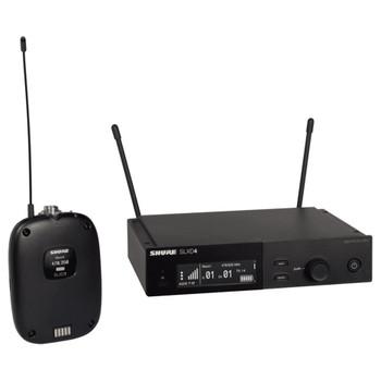SHURE SLXD14 Combo System with SLXD1 Bodypack and SLXD4 Receiver. EMI Audio
