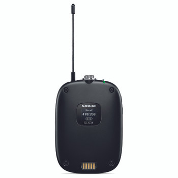 SHURE SLXD1 Bodypack Transmitter. EMI Audio