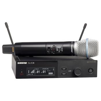 SHURE SLXD24/B87A-J52 Wireless Vocal System BETA 87A