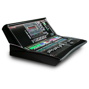 ALLEN & HEATH DLIVE-DLC25 dLive C Class C2500 20 Fader Surface left view