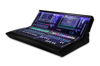 ALLEN & HEATH DLIVE-DLC35 dLive C Class C3500 24 Fader Surface angled view