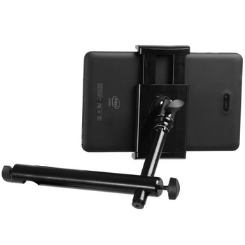 TCM1900U-Mount Universal Grip-On System w/ Mounting Bar shown with tablet