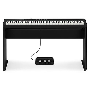 CASIO PX-S1000CS Digital Piano, black with CS 68 stand. EMI Audio