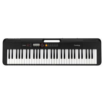 CASIO CT-S200 Casiotone Portable Keyboard, Black. EMI Audio