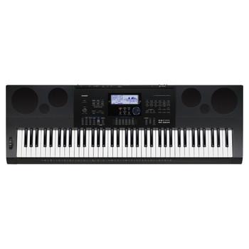 CASIO WK-6600 Portable Keyboard top view. EMI Audio
