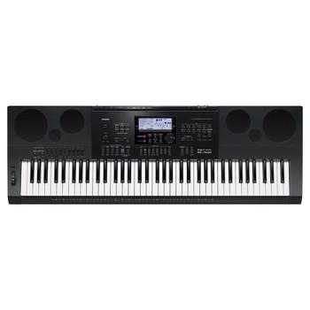 CASIO WK-7600 Portable Keyboard top view. EMI Audio