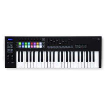 NOVATION Launchkey 49 [MK3] MIDI Keyboard Controller top view