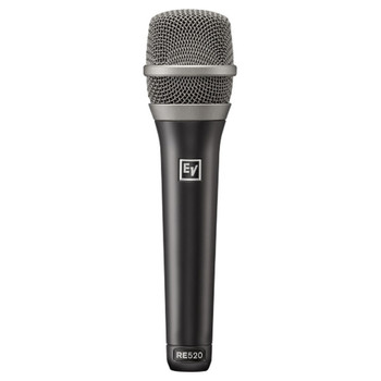 Electro-Voice RE520 Premium Condenser Supercardioid Vocal Microphone close up