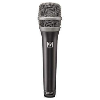 Electro-Voice RE520 Premium Condenser Supercardioid Vocal Microphone close up