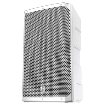 "White Electro-Voice ELX200-15P-US 15"" 2-Way powered speaker front"