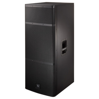 """Electro-Voice ELX215 Dual 15"""" Two-Way Passive Loudspeaker front angle"""