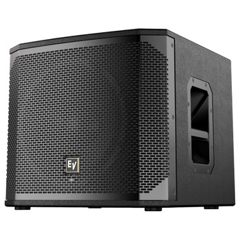 """Electro-Voice ELX200-12SP-US 12"""" powered subwoofer front angle"""