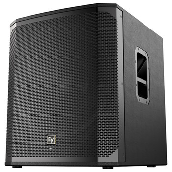"""Electro-Voice ELX200-18SP-US 18"""" powered subwoofer front angle"""