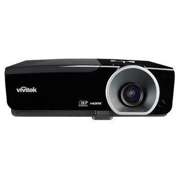 VIVITEK D963HD Plus High brightness 1080p multimedia 3D projector with lens shift front