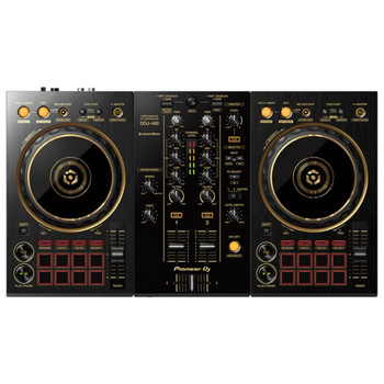 PIONEER DDJ-400-N/PXJ GOLD 2-Channel Limited Edition Rekordbox DJ Controller Front