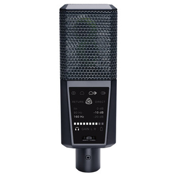 LEWITT DGT 650 Stereo / Cardioid USB Microphone for iOS, PC, Mac - Mic Front