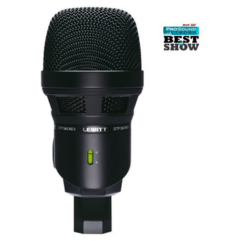 LEWITT DTP 340 REX Dynamic Microphone for Kick Drum & Other Bass Instruments - Mic