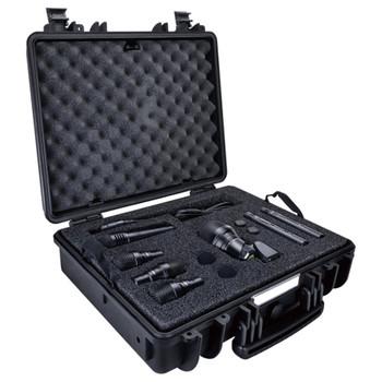 LEWITT DTP BEAT KIT PRO 7 Drum Microphone Kit with 7 Mics: DTP-640-REX, DTP-340-TT x3, LCT-340 x2, MTP-440 - Kit Overview