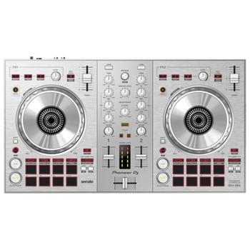 Pioneer DJ Silver DDJ-SB3 Limited Edition Serato DJ Controller Front