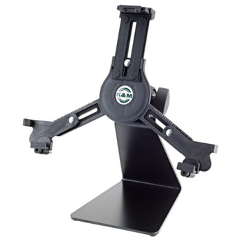 K&M 19792  Universal Tablet Holder Table or Desk Stand