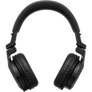 pioneer-hdj-cue-headphones-black-front
