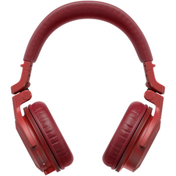 pioneer-hdj-cue-headphones-red-front