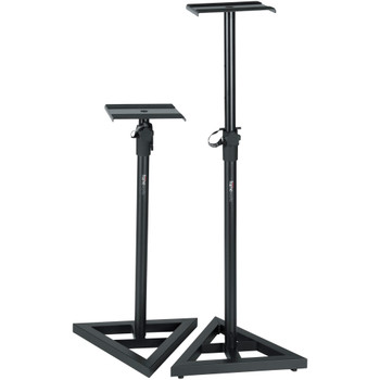 Gator Frameworks GFW-SPK-SM50 Studio Monitor Stand (pair)  - Quick Shipping Available